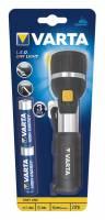 Lommelygte Varta LED Day light inkl. 2stk AA batteri