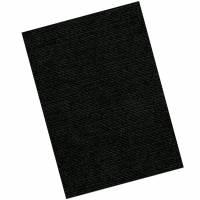 Kartonforside til indbinding Fellowes A4 250g sort Linen Texture 100stk/pak
