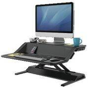Arbejdsstation Fellowes Lotus Sit-Stand sort