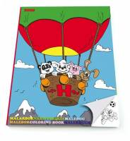Malebog Sense Hector og venner 20x27,5cm 36 sider