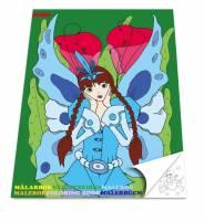 Malebog Sense Prinsesser 20x27,5cm 36 sider