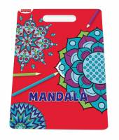 Malebog Sense Mandala - Frie former 20x27,5cm 36 sider