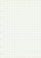 Kalenderrefill Filofax Notebook A5 kvadreret 100g 32bl/pak