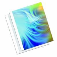 Limmappe Fellowes hvid 20mm ca. 151x200ark 50stk/pak