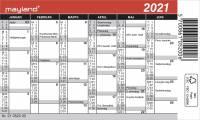 Mini kalender 12x7cm 21 0520 00