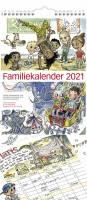 Familiekalender m/illustration 23x50cm 21 0661 00