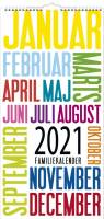 Familiekalender Trendart 22x43cm 21 0661 90
