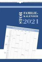 Familiekalender stor 7 kolonner 34x48cm 21 0663 80