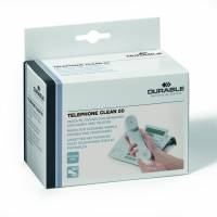 Renseservietter TELEPHONE CLEAN 50stk/pak individuel pakket