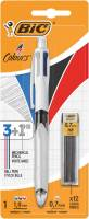 Kuglepen Bic 4C Color Multifunction blå/sort/rød/grafitstift