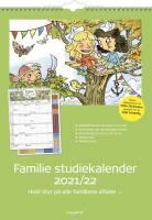Familie Skoleårskalender m/stickers 30x42cm 8079 00