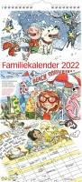 Familiekalender m/illustra. Otto Dickmeiss 23x50cm 0661 00