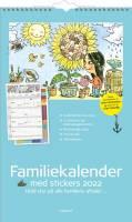 Familiekalender m/illustra. Otto Dickmeiss 4 kolonner 24x39cm