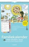 Familiekalender m/illustra. Otto Dickmeiss 5 kolonner 27x42cm