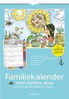 Familiekalender m/illustra. Otto Dickmeiss 6 kolonner 30x42cm