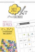 Familiekalender Doodle m/stickers 0666 10