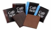 Chokolade Café Noir Lys/mørk 4,5g 2 dåser a 150 stk/pak