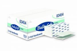 Papirhåndklæde Bulky Soft hvid 2-lags 24 cm 3750ark