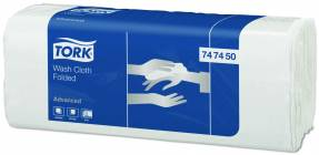 Håndklædeark Tork vaskeklud H3 6-lag Z-fold 747450 20x80ark