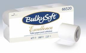 Toiletpapir Bulky Soft Excl. 3-lags hvid 29m 72rl/kar 250ark