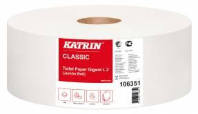 Toiletpapir Katrin C Gigant L 2-lags 440m 6rl/kar 106351
