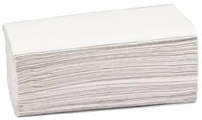 Papirhåndklæde Care-Ness 2-lags natur 3750stk/kar