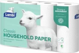 Køkkenrulle Lambi 5x4rul/kar 243339