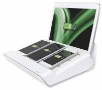 Multioplader Leitz XL hvid til mobile enheder