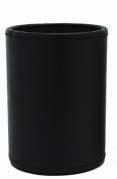 Penneholder sort kunstskind 80x120mm
