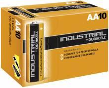 Batteri Duracell Industrial AA 10stk/pak