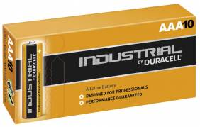 Batteri Duracell Industrial AAA 10stk/pak