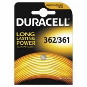 Batteri Duracell 362/361 1,5V Silver Oxide 1stk/pak