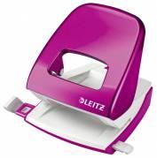 Hulapparat Leitz 5008 WOW 2-huls 30ark pink