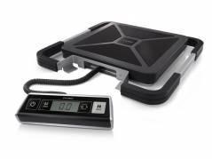 Pakkevægt 100kg DYMO S100 sort med USB