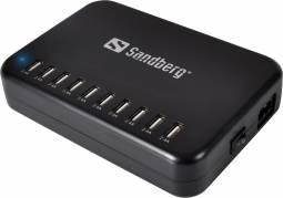 Oplader Sandberg USB master pro 10x2.4A