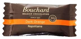 Chokolade Bouchard orange 5g flowpakket 1kg/pak