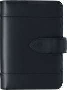 Dagkalender System PP skind sort 9,5x17cm 27mm ringe 19 2780 00