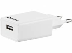 Oplader Sandberg AC EU USB 1A
