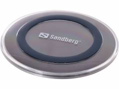 Oplader Sandberg Wireless Qi pad 5W sort