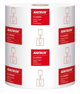 Aftørringspapir Katrin C M 1-la 20,5cmx300m 6rl 485049