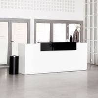 Reception Libra Komplet Fast 2600mm Hvid DPL
