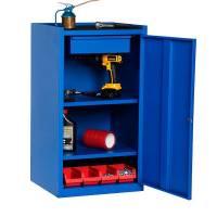 Opbevaringsskab i stål - GBP 900x500x450 mm
