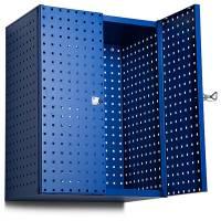 Opbevaringsskab i stål, perforeret GBP 790x600x400 mm