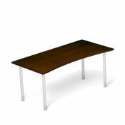 Skrivebord Profi 65 Valnød 1600x800mm I-ben